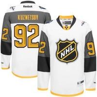 Capitals #92 Evgeny Kuznetsov White 2016 All Star Stitched NHL Jersey