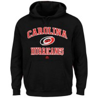 Carolina Hurricanes Majestic Heart & Soul Hoodie Black