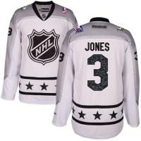 Columbus Blue Jackets #3 Seth Jones White 2017 All-Star Metropolitan Division Stitched NHL Jersey
