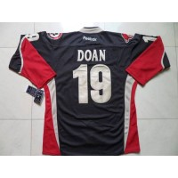 Coyotes #19 Shane Doan Black Third Stitched NHL Jersey