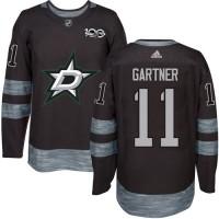 Dallas Stars #11 Mike Gartner Black 1917-2017 100th Anniversary Stitched NHL Jersey
