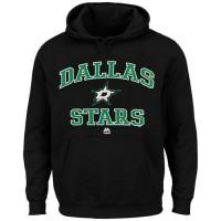 Dallas Stars Majestic Heart & Soul Hoodie Black