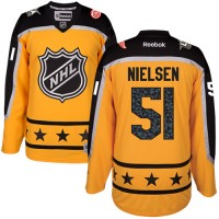 Detroit Red Wings #51 Frans Nielsen Yellow 2017 All-Star Atlantic Division Stitched NHL Jersey