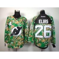 Devils #26 Patrik Elias Camo Veterans Day Practice Stitched NHL Jersey