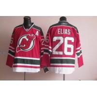 Devils #26 Patrik Elias RedGreen CCM Team Classic Stitched NHL Jersey