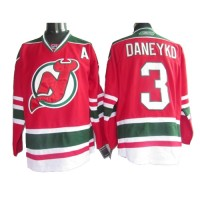 Devils #3 Ken Daneyko RedGreen CCM Team Classic Stitched NHL Jersey