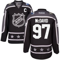 Edmonton Oilers #97 Connor McDavid Black 2017 All-Star Pacific Division Stitched NHL Jersey