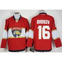Florida Panthers #16 Aleksander Barkov Red New Stitched NHL Jersey