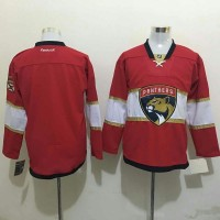 Florida Panthers Blank Red New Stitched NHL Jersey