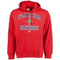 Florida Panthers Majestic Heart & Soul Hoodie Red