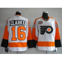 Flyers #16 Bobby Clarke Stitched Winter Classic White NHL Jersey