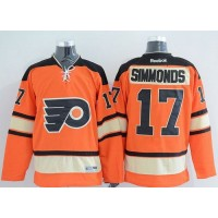 Flyers #17 Wayne Simmonds Orange Alternate Stitched NHL Jersey