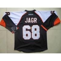 Flyers #68 Jaromir Jagr Black Stitched NHL Jersey