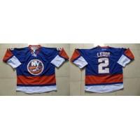 Islanders #2 Nick Leddy Baby Blue Stitched NHL Jersey