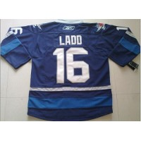 Jets #16 Andrew Ladd Dark Blue 2011 Style Stitched Youth NHL Jersey