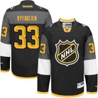 Jets #33 Dustin Byfuglien Black 2016 All Star Stitched NHL Jersey