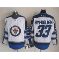 Jets #33 Dustin Byfuglien White 2011 Style Stitched NHL Jersey
