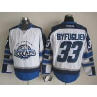 Jets #33 Dustin Byfuglien White St. John's IceCaps Stitched NHL Jersey