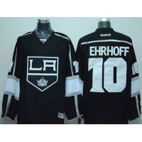 Kings #10 Christian Ehrhoff Black Stitched NHL Jersey