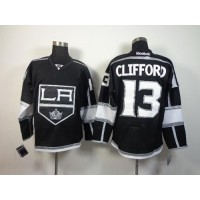 Kings #13 Kyle Clifford Black Home Stitched NHL Jersey