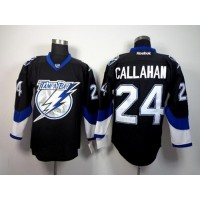 Lightning #24 Ryan Callahan Black Stitched NHL Jersey