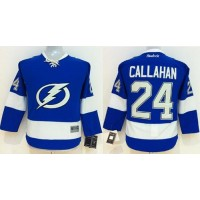 Lightning #24 Ryan Callahan Blue Home Women's Stitched NHL Jersey