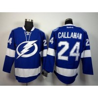 Lightning #24 Ryan Callahan Blue Stitched NHL Jersey
