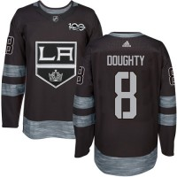 Los Angeles Kings #8 Drew Doughty Black 1917-2017 100th Anniversary Stitched NHL Jersey