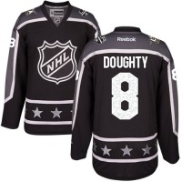 Los Angeles Kings #8 Drew Doughty Black 2017 All-Star Pacific Division Stitched NHL Jersey