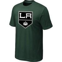 Los Angeles Kings Big & Tall Logo Dark Green NHL T-Shirts