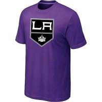 Los Angeles Kings Big & Tall Logo Purple NHL T-Shirts