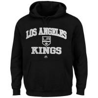 Los Angeles Kings Majestic Heart & Soul Hoodie Black