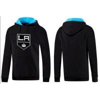 Los Angeles Kings Pullover Hoodie Black & Blue