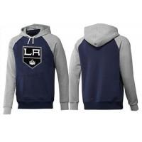 Los Angeles Kings Pullover Hoodie Dark Blue & Grey