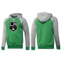 Los Angeles Kings Pullover Hoodie Green & Grey