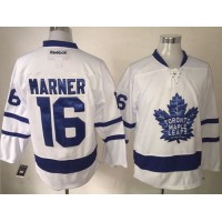 Maple Leafs #16 Mitchell Marner White New Stitched NHL Jersey