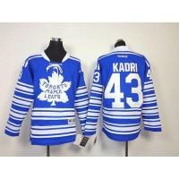 Maple Leafs #43 Nazem Kadri Blue 2014 Winter Classic Stitched Youth NHL Jersey