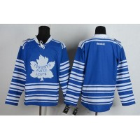 Maple Leafs Blank Blue 2014 Winter Classic Stitched NHL Jersey