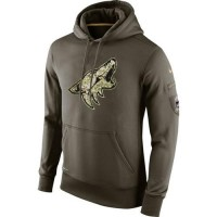 Men's Arizona Coyotes Nike Salute To Service NHL Hoodie