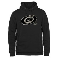 Men's Carolina Hurricanes Black Rink Warrior Pullover Hoodie