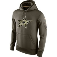 Men's Dallas Stars Nike Salute To Service NHL Hoodie