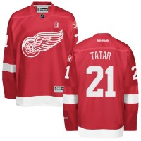 Men's Detroit Red Wings #21 Tomas Tatar Red Home jersey