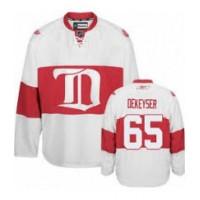Men's Detroit Red Wings #65 Danny DeKeyser White Winter Classic jersey