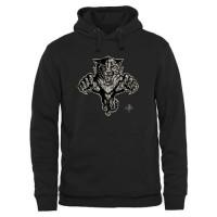 Men's Florida Panthers Black Rink Warrior Pullover Hoodie
