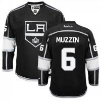 Men's Los Angeles Kings #6 Jake Muzzin Black Home Jersey
