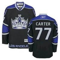 Men's Los Angeles Kings #77 Jeff Carter Black Third Jersey