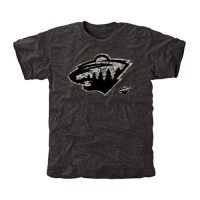 Men's Minnesota Wild Black Rink Warrior T-Shirt