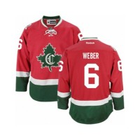 Men's Montreal Canadiens #6 Shea Weber Red New CD NHL Jersey