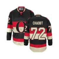 Men's Ottawa Senators #72 Thomas Chabot Black New Third NHL Jersey
