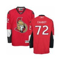 Men's Ottawa Senators #72 Thomas Chabot Red Home NHL Jersey